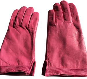 Fownes NEW- FOWNES LINED PINK GLOVES (SIZE 7)
