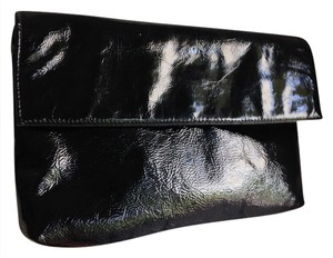 Other Patent Pinky Made In Usa Shiny Fetish Evening Formal Black Clutch