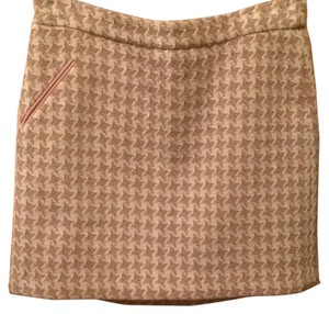 Beth Bowley Mini Skirt Pink and cream
