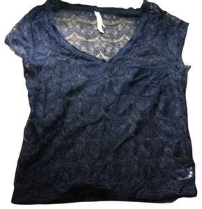 Aeropostale T Shirt Navy Blue