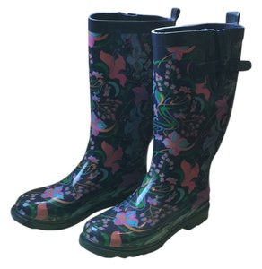 Capelli New York Water-resistant Rain Blue Boots
