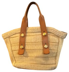 Tory Burch Tote in Natural Straw