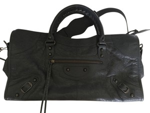 Balenciaga Classic Part Time Satchel in Anthracite