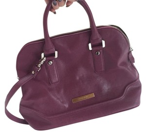 Ivanka Trump Satchel in Burgundy