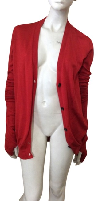 Item - Red Open Back Jacket Size 4 (S)