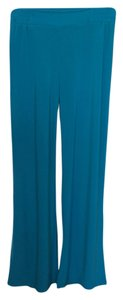 Palazzo Stretch Summer Casual Wide Leg Pants Aqua Marine