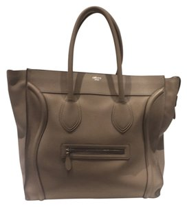 Céline Xl Luggage Celine Luggage Tote in Taupe