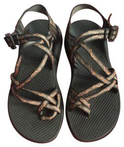Chaco sandals Brown orange Sandals