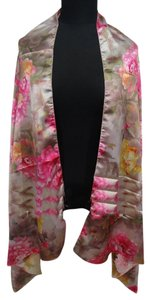 Other Buy 1 Get 1 Free Floral Scarf Wrap Pink Free Shipping