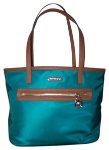 Michael Kors New Attached Never Used Genuine Tote in teal