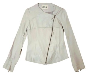 Illia Vintage Leather Motorcycle Jacket