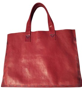 Paul Smith Tote in Red