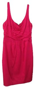 Jones New York Satin Sleeveless Fitted Dress