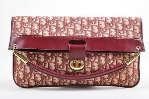 Dior Vintage Christian Red Clutch