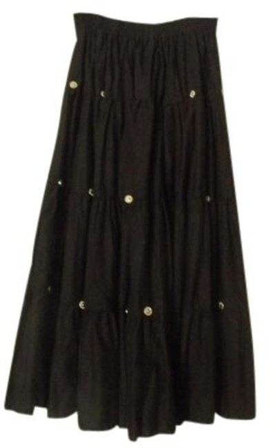 Panhandle Slim Maxi Skirt Black