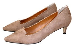 Other Low Heel Low-heel Beige Suede dark taupe Pumps