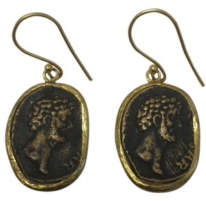 Other Antique Gold Coin Earrings