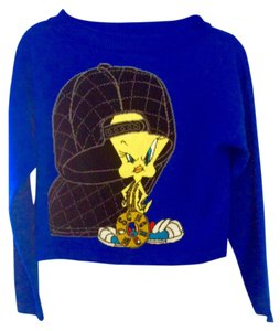 Moschino Jeremy Scott Looney Tunes Tweety Bird Wool Sweater