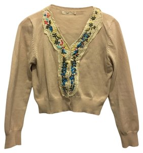 Hazel Embroidered Floral Details Cardigan