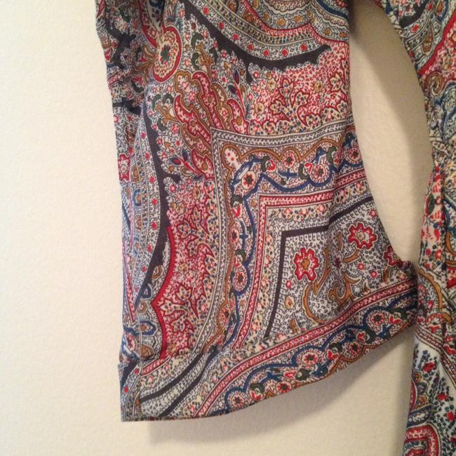 Zara short dress Paisley print (Reds, greens, blues) on Tradesy