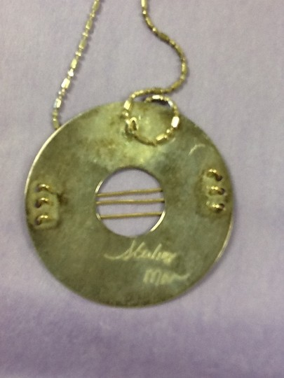 Other Silver chain and pendant Image 2