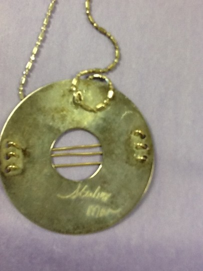 Other Silver chain and pendant Image 3