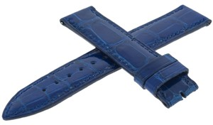 Franck Muller Franck Muller Geneve 02B Leather Blue 16-16 mm Watch Band (3433)