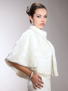 Glamorous Couture Faux Mink Cape