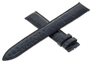 Franck Muller Franck Muller Geneve Genuine Alligator Leather Dark Blue Band (7568)