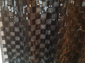 Other Black Sequined Wrap