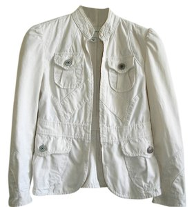 Banana Republic Cargo Field Military ivory Jacket