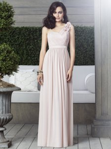 Dessy Oyster 2909 Destination Bridesmaid/Mob Dress Size 14 (L)