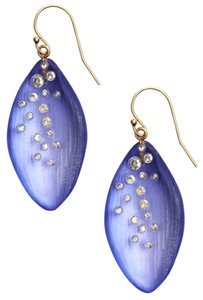 Alexis Bittar Alexis Bittar Lucite Dusk Long Leaf Statement Earrings