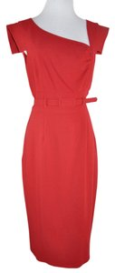Single Nwt Belted Sheath Dress