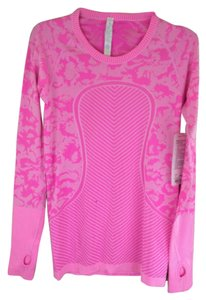 Lululemon New With Tags Lululemon Swiftly Tech Long Sleeve Crew Fleur Size 4 Pink
