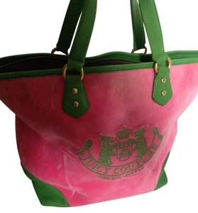 Juicy Couture Juice Large Pink, Green Travel Bag