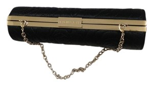 BCBGMAXAZRIA With Chain Black Clutch