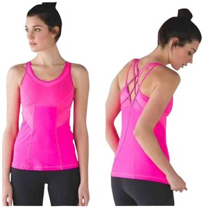 Lululemon New With Tags Strap It Like It's Hot Tank Pink Size 4 Raspberry Glow