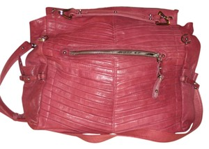 Junior Drake Pleated Vintage Shoulder Bag