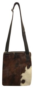 Maurizio Taiuti Cow Hyde Leather Cross Body Bag