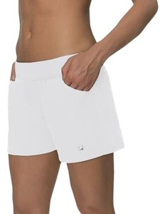 Fila Fila Women's Active Logo COOLMAX Essential Shorts White XS New without tags