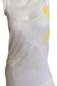 Helmut Lang Top White/Yellow