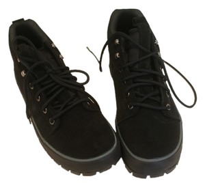Cole Haan Suede Boot Black Boots