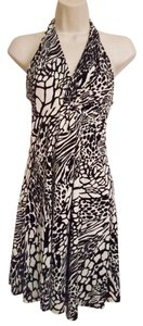 Guess short dress Animal print Halter on Tradesy