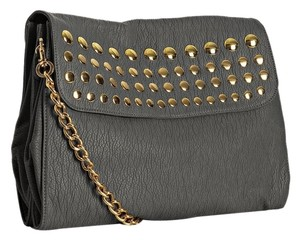 deux lux Studded Chain Strap Shoulder Bag