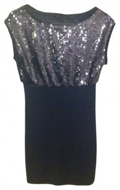 Preload https://item4.tradesy.com/images/forever-21-gray-sparkly-mini-night-out-dress-size-0-xs-130108-0-0.jpg?width=400&height=650