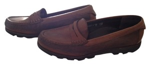 Mephisto Walking Brown leather Flats
