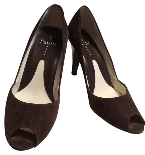 Paolo Dk Brown Pumps