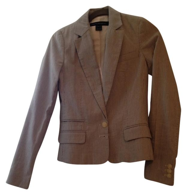 Preload https://item2.tradesy.com/images/french-connection-seersucker-fitted-blazer-size-0-xs-1301261-0-0.jpg?width=400&height=650