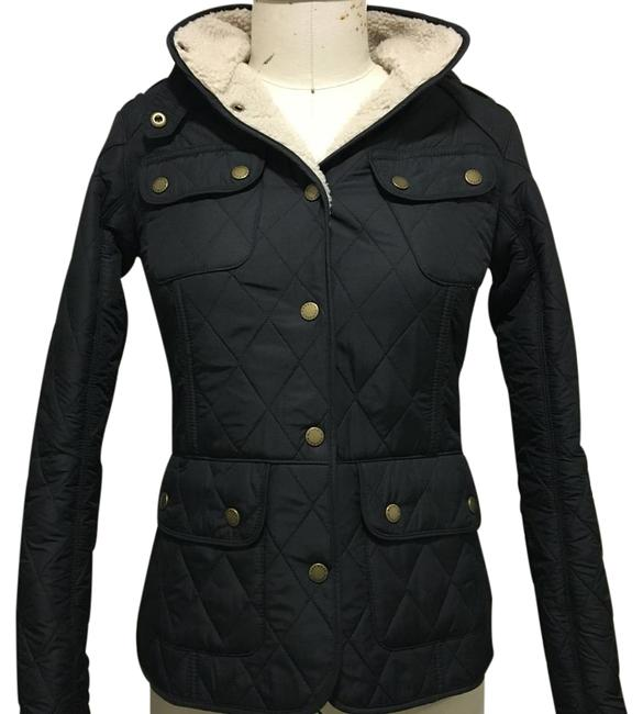 Item - Black Clearway Quilted Jacket Coat Size 4 (S)
